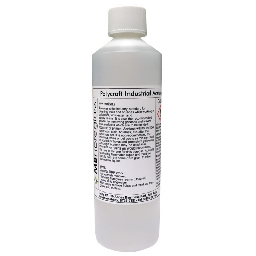 500ml Industrial Grade Acetone