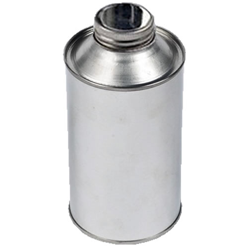 500ml Metal Cone Top Tin With 38mm Screw-Neck Metal Cap (Empty)