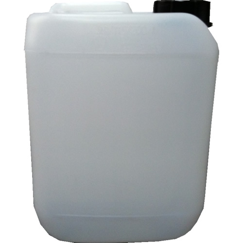 5 Litre Natural HDPE Stackable Jerrican & TE/Tamper Evident 51mm Cap (Empty)