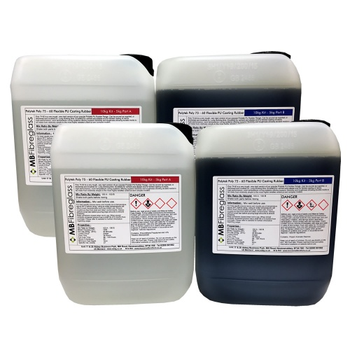 Polytek Poly 75 60 Firm Polyurethane Rubber For Concrete