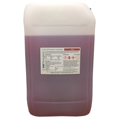 Crystics 9293 Polyester Casting Resin - 25kg (No Catalyst)