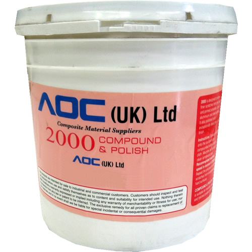 Aquabuff 2000 Medium Compound & Polish - 4.5kg