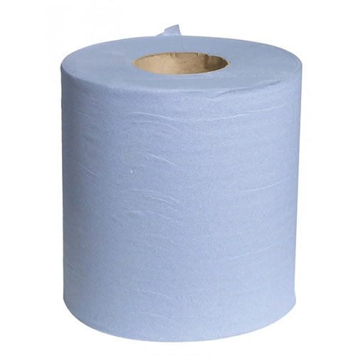 Universal 2 Ply Towel Roll - Blue - 150m