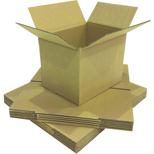 Easypack 001-SB - Small Single Wall Cardboard Packaging Box