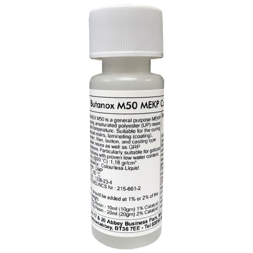 Butanox M50 Catalyst (MEKP) - 30ml