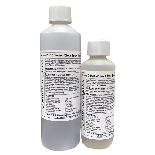 Axson Translux D150 Water Simulation Epoxy Casting Resin