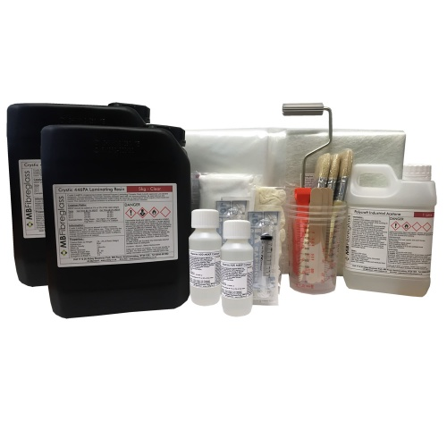 10Kg Fibreglass Repair Kit - Inc Material & Tools