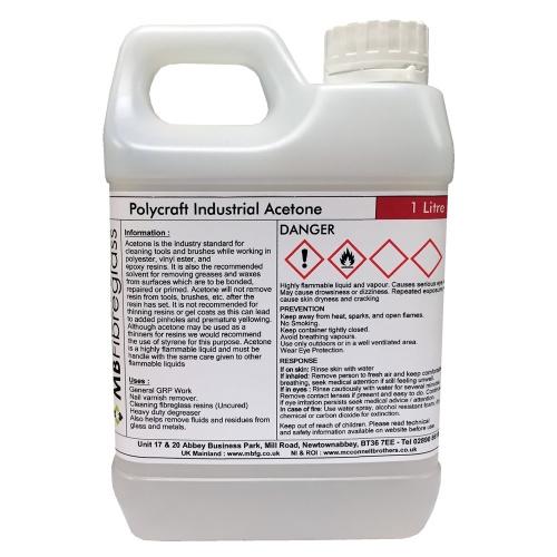 1 Litre Industrial Grade Acetone Mbfg Co Uk