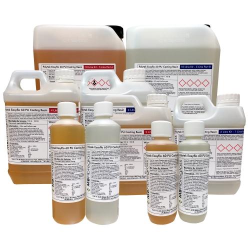 Polytek Easyflo 60 Polyurethane Liquid Plastic Casting