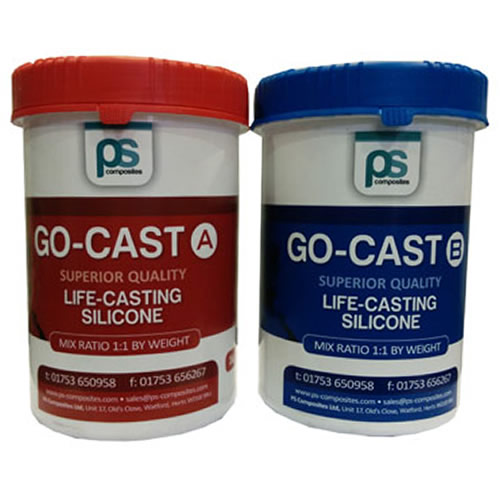 Go Cast Skin Safe Self Releasing Life Casting Silicone