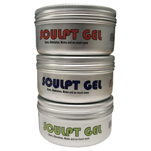 Sculpt Gel (Flesh) - Quick Cure Skin Safe Special Effects Silicone Gel
