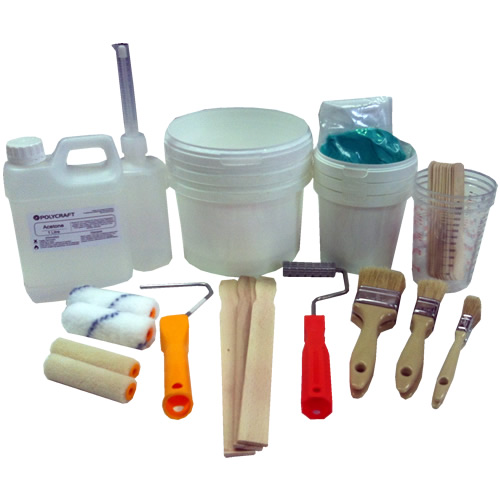 Fibreglass Ancillaries | Tool Kit - Small Starter Pack