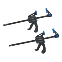 6'' (150mm) Quick Release Bar Clamp - 2pk