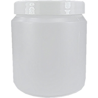 Polyjar Plastic Jar 250ml Natural 70mm Screw Cap