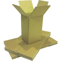 Easypack 007-5L - Medium Double Wall Cardboard Packaging Box - Overlapping