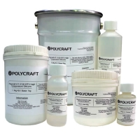 Polycraft HT-3120 Heat Resistant High Temperature RTV Condensation Cure Silicone Rubber