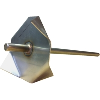 Jesmonite Metal Mixing Blade / Paddle
