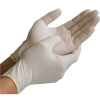 Latex Gloves - Lightly Powdered