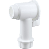 3/4'' Bung Tap White - Fit 120L & 210L L-Ring
