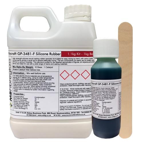 Polycraft Gp3481 F General Purpose Rtv Condensation Cure Mould
