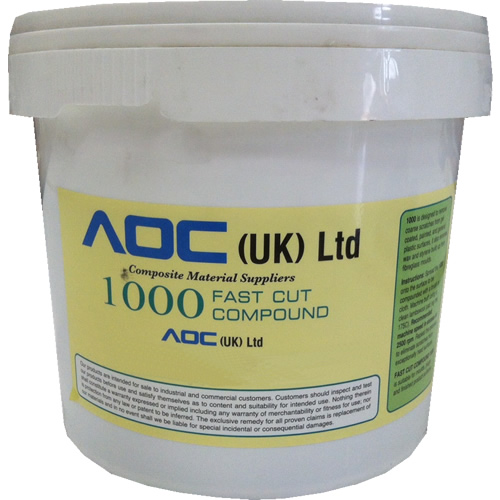 1000 Fast Cut Compound - 5kg