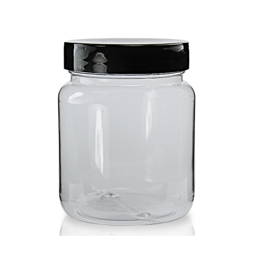 100ml Clear Screw Top Jar & 43mm Lid
