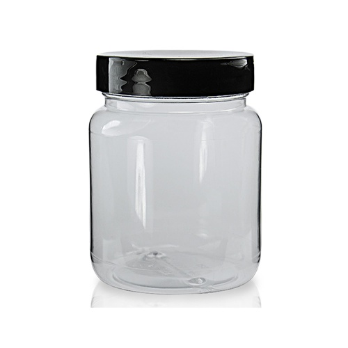 65ml Clear Screw Top Jar & 38mm Lid