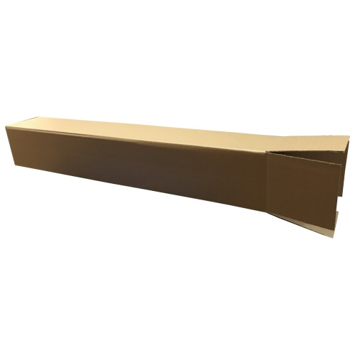 Easypack 010-MB - Large Single Wall Cardboard Packaging Box - Overlapping