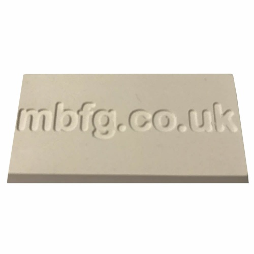 Formula Fine Casting Plaster Plus - Cured Sample