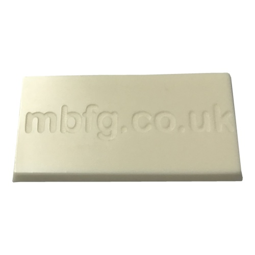 Polycraft SG2000 Paintable Fast Cast Polyurethane Liquid Plastic Casting Resin - Cured Sample