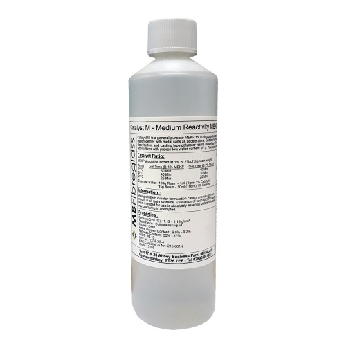 Catalyst M - Medium Reactivity MEKP - 500ml