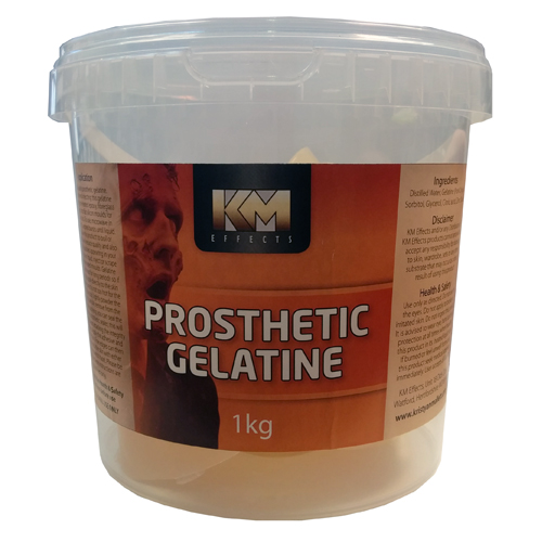 KM Effects Prosthetic Gelatine 1kg