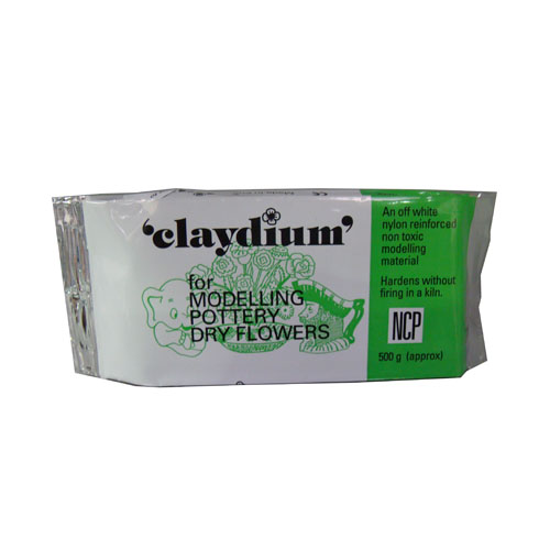 Claydium Off White Air Drying Clay
