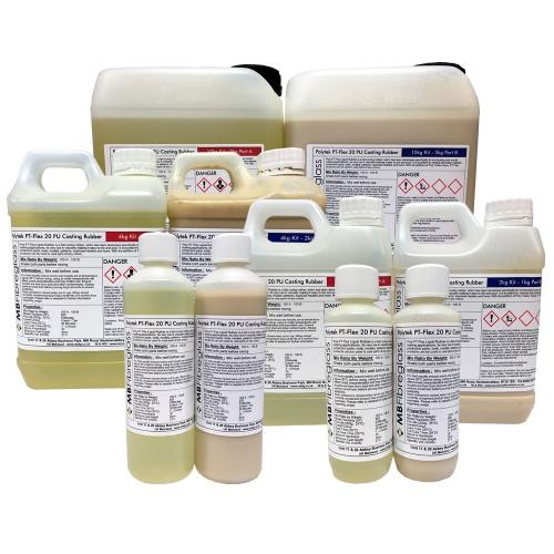 Polytek Poly PT Flex 20 Liquid Casting Rubber