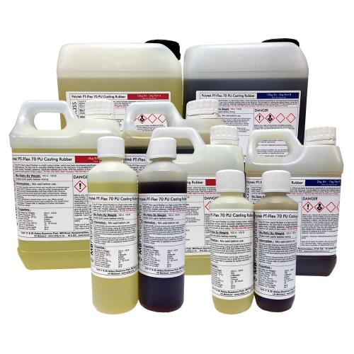 Polytek Poly PT Flex 70 Liquid Casting Rubber