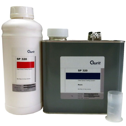 SP320 Solvent Free Clear Epoxy Resin System