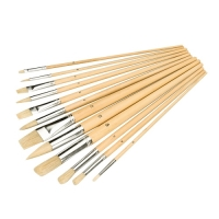 Artists Paint Brush Hobby Set 12 Pc
