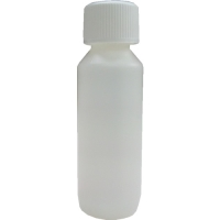 125ml Natural HDPE Plastic Bottle & Child Resistant Cap 28mm Cap