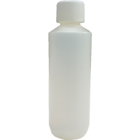 250ml Natural HDPE Plastic Bottle & Child Resistant Cap 28mm Cap