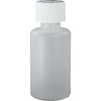 50ml Natural HDPE Plastic Bottle & Child Resistant Cap 20mm Cap