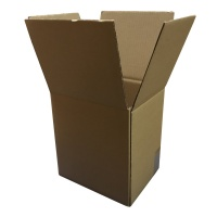 Easypack 006-GC - Medium Double Wall Cardboard Packaging Box - Overlapping