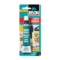 Bison Liquid Rubber Transparent Repair Set - 50ml