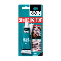 Bison Silicone High Temperature Sealant - 60ml