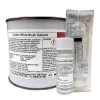 Crystic 65PA White 337 Brush Gelcoat - 250g