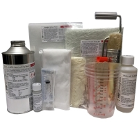 1Kg Fibreglass Repair Kit - Inc Material & Tools