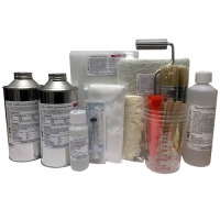 2Kg Fibreglass Repair Kit - Inc Material & Tools