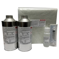 2Kg Fibreglass Repair Kit - Resin & Fibreglass Kit (No Tools)