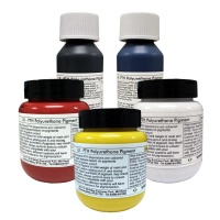 LR PTH Polyurethane Pigments - 5pk (Red/Yellow/Blue/White/Black)