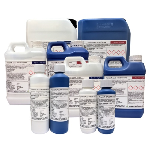 Polycraft ZA22 Mould RTV Addition Cure Mould Making Silicone Rubber